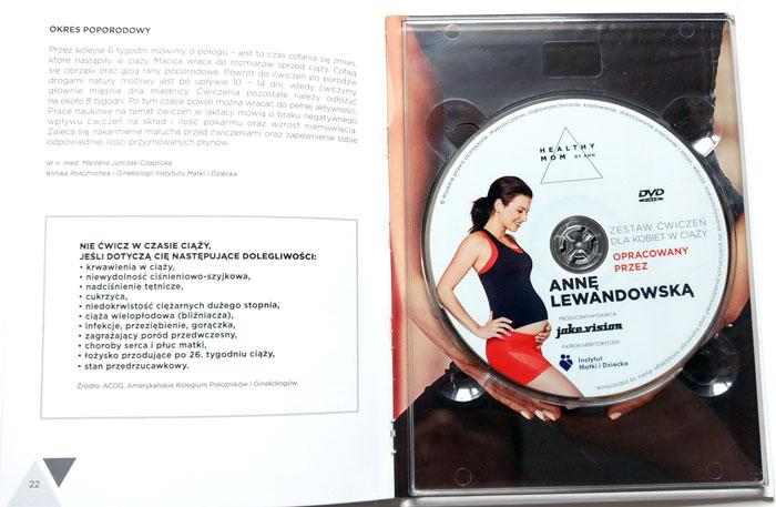 dvd dla kobiet w ciąży Anna Lewandowska
