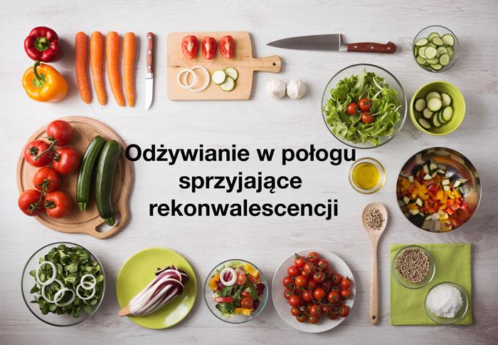 zdrowe produkty spożywcze na stole