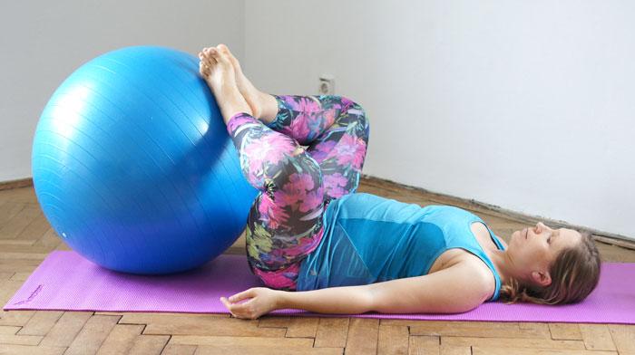 pozycja relaksacyjna w ciąży