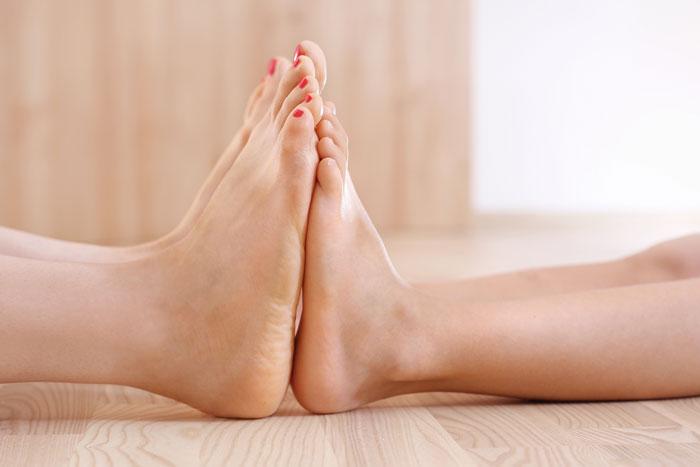 ćwiczenia na stopę